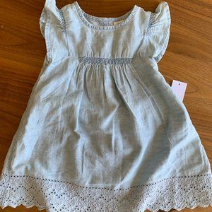 NWT Baby Gap chambray dress and bloomers